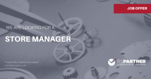 store manager annonce