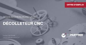 Décolleteur CNC