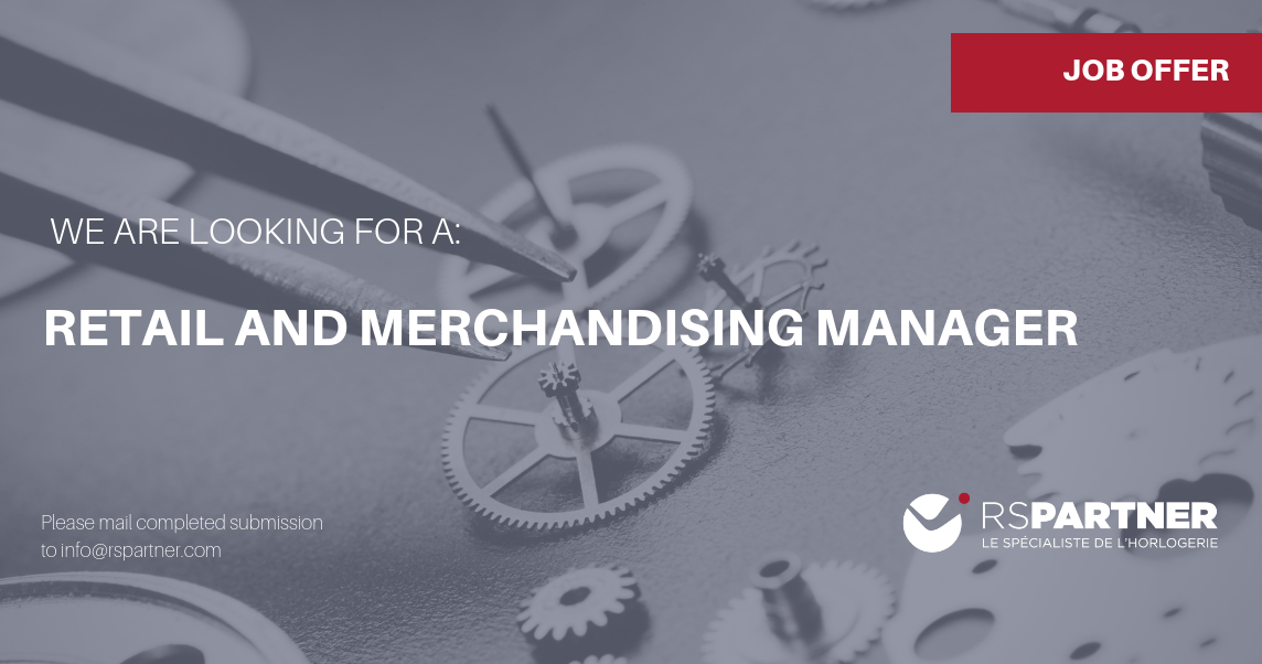 Retail and Merchandising Manager